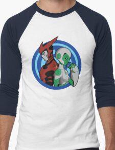 Hopeful Embrace Men's Baseball ¾ T-Shirt