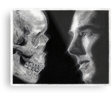 To be, or not to be... Hamlet Version I Metal Print