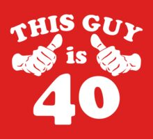 This Guy is 40 by beloknet