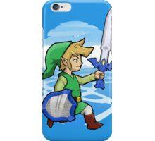 Link, The Hero of Winds || Wind Waker iPhone Case/Skin