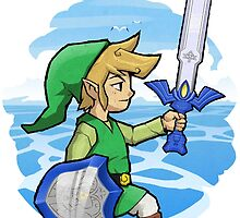 Link, The Hero of Winds || Wind Waker by paterack
