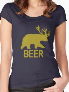 Trevor's BEER Hoodie - Episode 1 Women's Fitted Scoop T-Shirt
