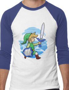 Link, The Hero of Winds || Wind Waker Men's Baseball ¾ T-Shirt