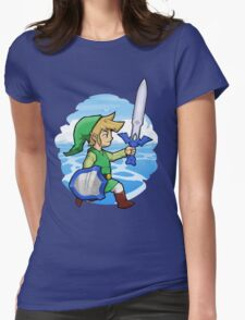 Link, The Hero of Winds    Wind Waker Womens Fitted T-Shirt