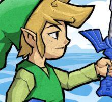 Link, The Hero of Winds || Wind Waker Sticker