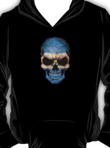 El Salvador Flag Skull T-Shirt
