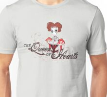 Queen of Hearts - Alive In Wonderland Unisex T-Shirt