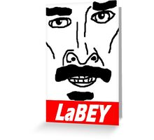"Shia TheBeef ""Obey"" Greeting Card"