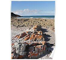 Fine Winters Day at Rocky Cape, Tasmania, Australia. Poster
