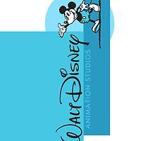 WALT DISNEY ANIMATION BLUE 2 by Disneydisney