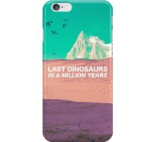 LAST DINOSAURS iPhone Case/Skin