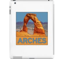 Arches National Park - Delicate Arch - Moab Utah iPad Case/Skin