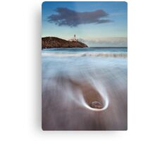 Rock On The Beach Metal Print