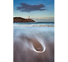 Rock On The Beach Photographic Print