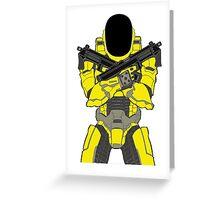 Daft Halo Greeting Card