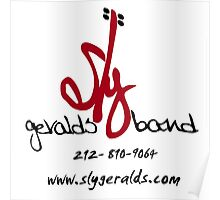 Sly Geralds Band Logo Poster
