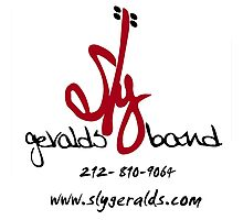 Sly Geralds Band Logo Photographic Print