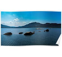 Landscape - Lake and Mountain Poster