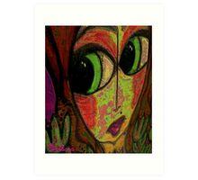 Brandie Rainbow Art Print