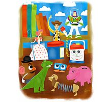 Golden Book - Toy Story Photographic Print