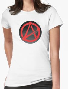 Modern Atheist Inspired Design Womens Fitted T-Shirt