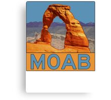Moab Utah - Arches National Park - Delicate Arch Canvas Print