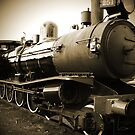 Steam Train in Queenscliff by Andrew (ark photograhy art)