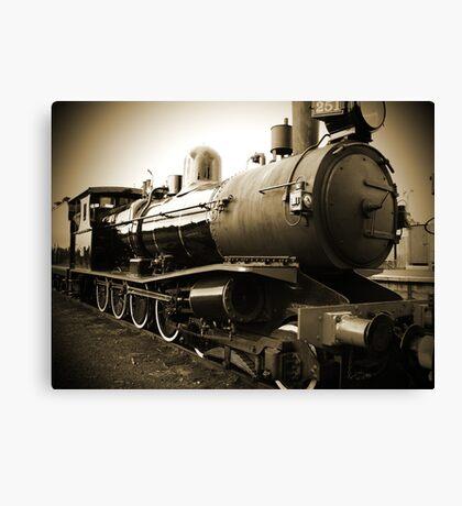 Steam Train in Queenscliff Canvas Print