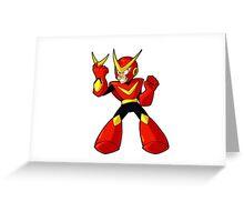 Quick Man DWN-012 Greeting Card