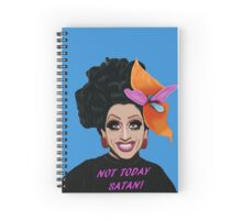 Bianca Del Rio Not Today Satan Spiral Notebook