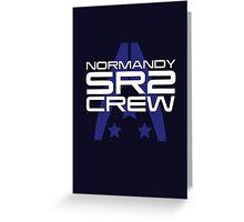 Normandy SR2 Crew Greeting Card