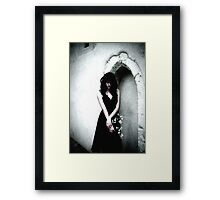 Weight of Grief (1) Framed Print