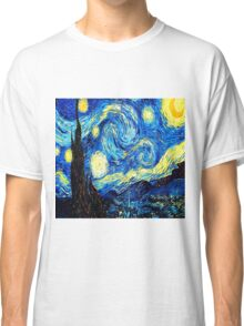 Starry Night - Vincent Van Gogh Classic T-Shirt