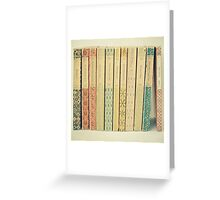 Old Books Greeting Card
