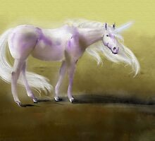 Uncamouflaged Unicorn by Flynnthecat