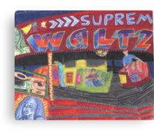 Fun times on the Waltzer Canvas Print