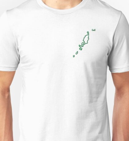 """Palau """"Citizen of the Earth"""" small Unisex T-Shirt"""