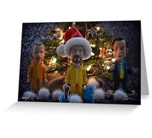 Breaking Bad Wise Men  Greeting Card