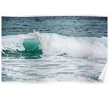 Foaming Waves  Poster