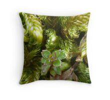 In the Undergrowth Throw Pillow