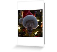 Santa Walt  Greeting Card