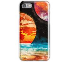 atmosphere and planets  iPhone Case/Skin