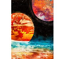 atmosphere and planets  Photographic Print