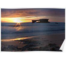 Doorway Rock Sunset, Robe Poster