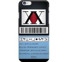 HunterxHunter-Hunter License iPhone Case/Skin