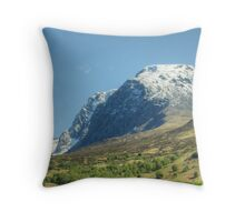 Beinn Nibheis (Ben Nevis) Throw Pillow