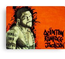 quinton rampage jackson Canvas Print