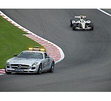GP 2  - Sergio Perez Photographic Print