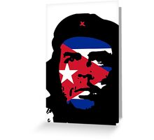 Che Eyes Cuba Greeting Card