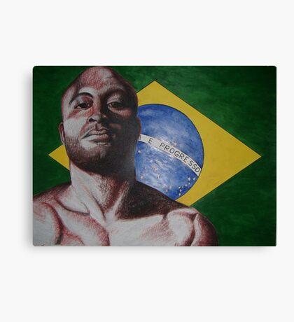 brazil anderson silva Canvas Print